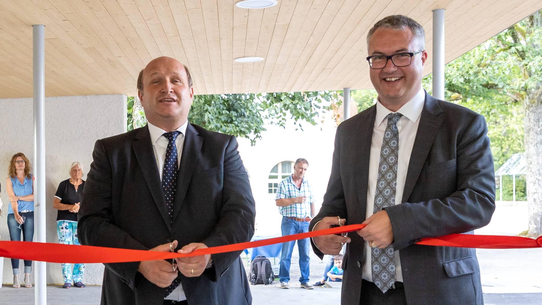 «Zwei starke Persönlichkeiten»: Die FDP will mit Remo Ankli und Peter Hodel in die Regierung
