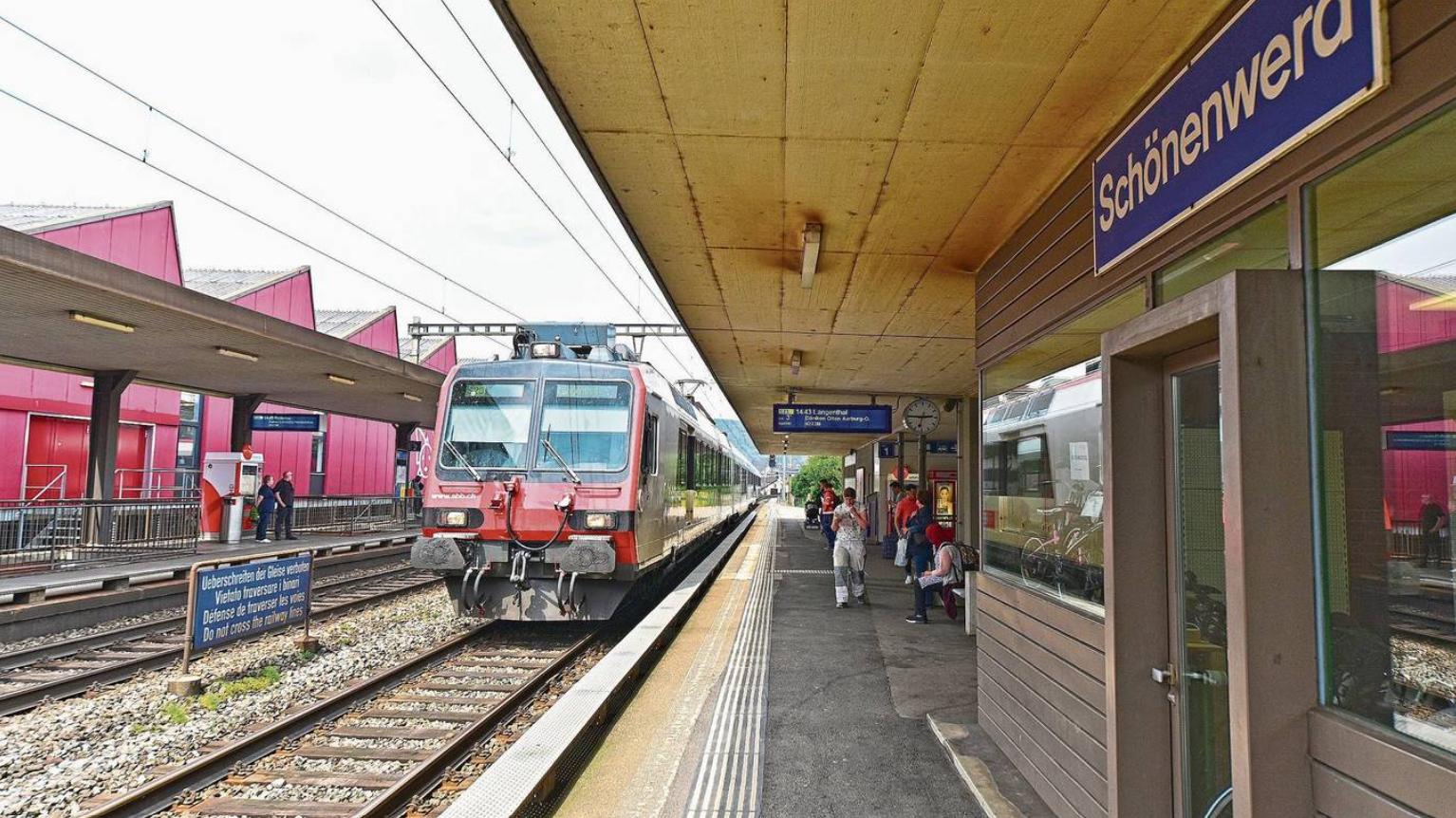 Nach «rundem Tisch»: Positive Signale für das Schönenwerder Bahnhofsprojekt