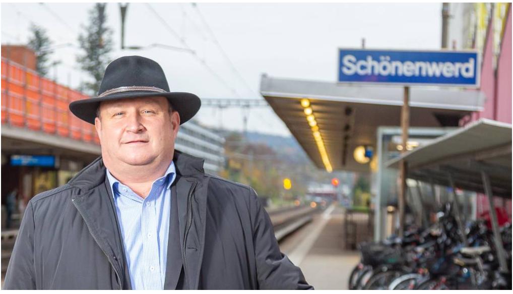 Verschwindet Schönenwerd für SBB-Passagiere von der Landkarte? Das sagt der Gemeindepräsident dazu