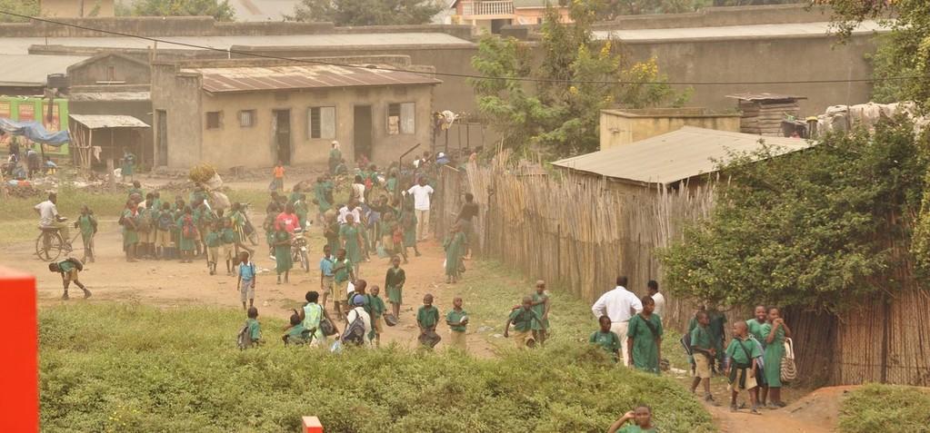 Grundschule in der Stadt Kasese