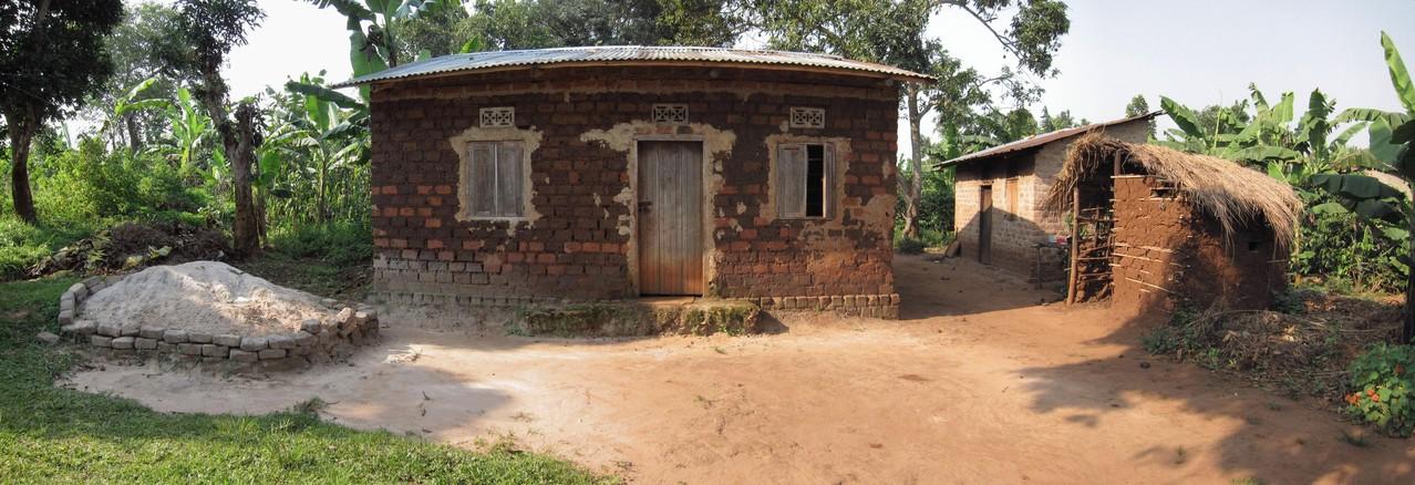 Hütte von Brunos Familie