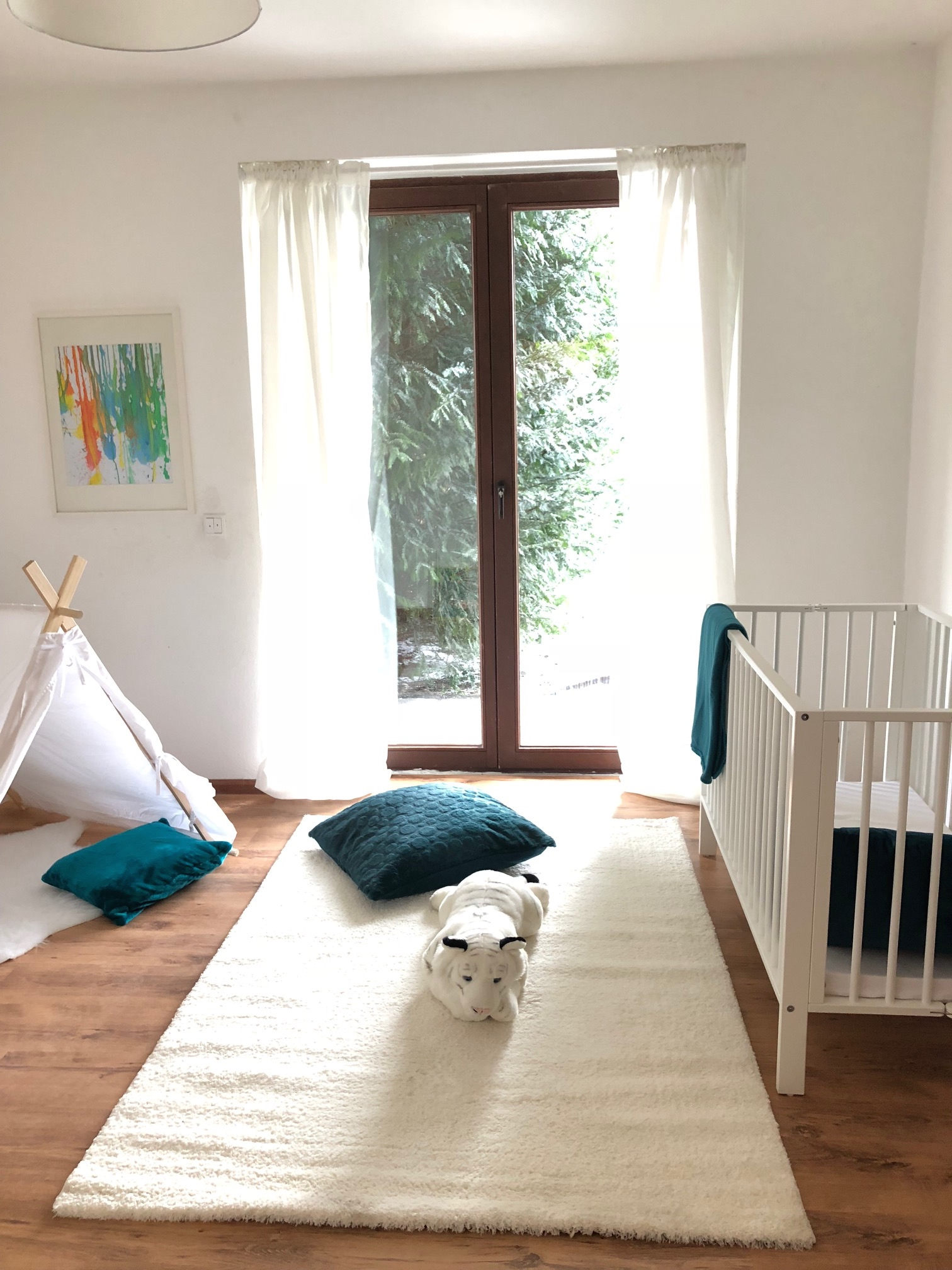Kinderzimmer mit Home Staging