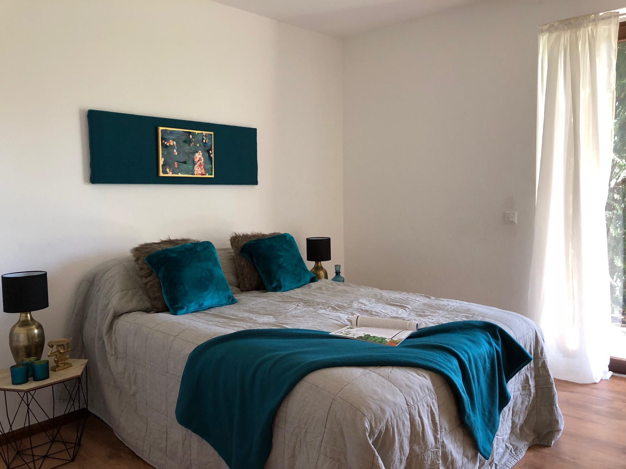 Schlafzimmer mit Home Staging