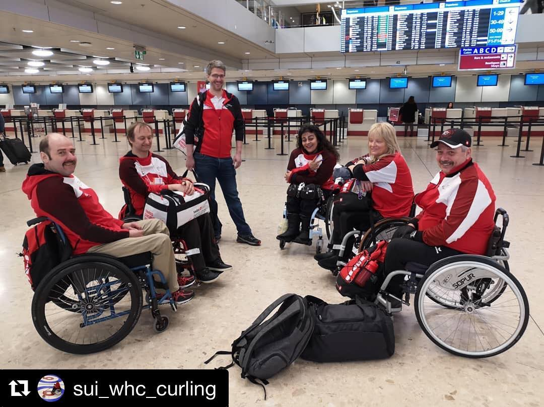 #WWhCC2019 #curling #wheelchaircurling #hopp🇨🇭