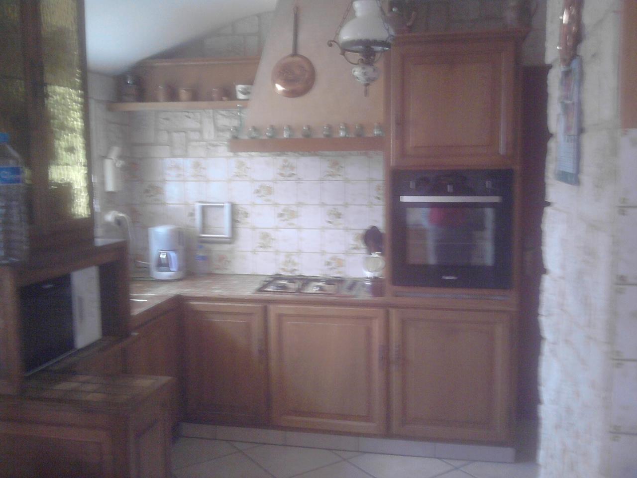 Une cuisine avant relooking