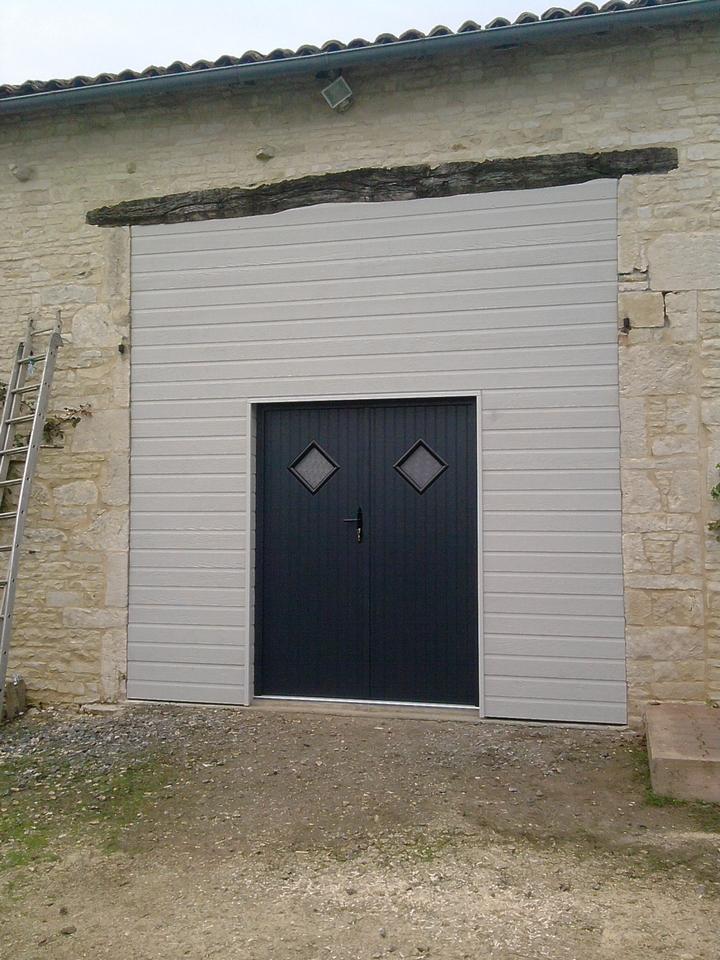 fourniture et pose de porte de garage fma menuiserie