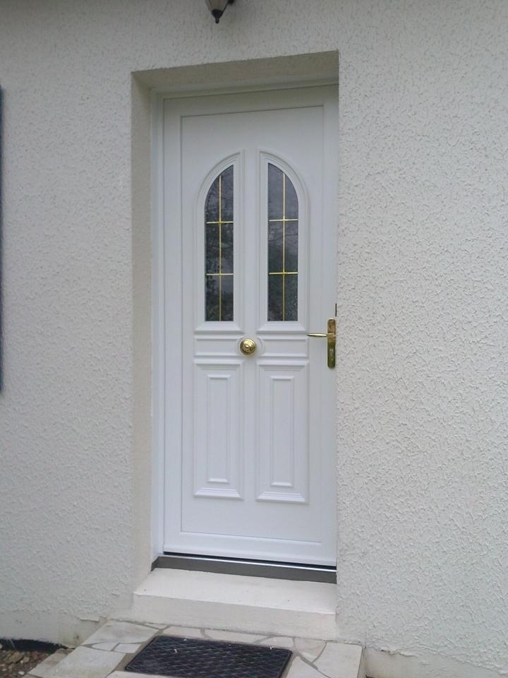 porte PVC Blanc