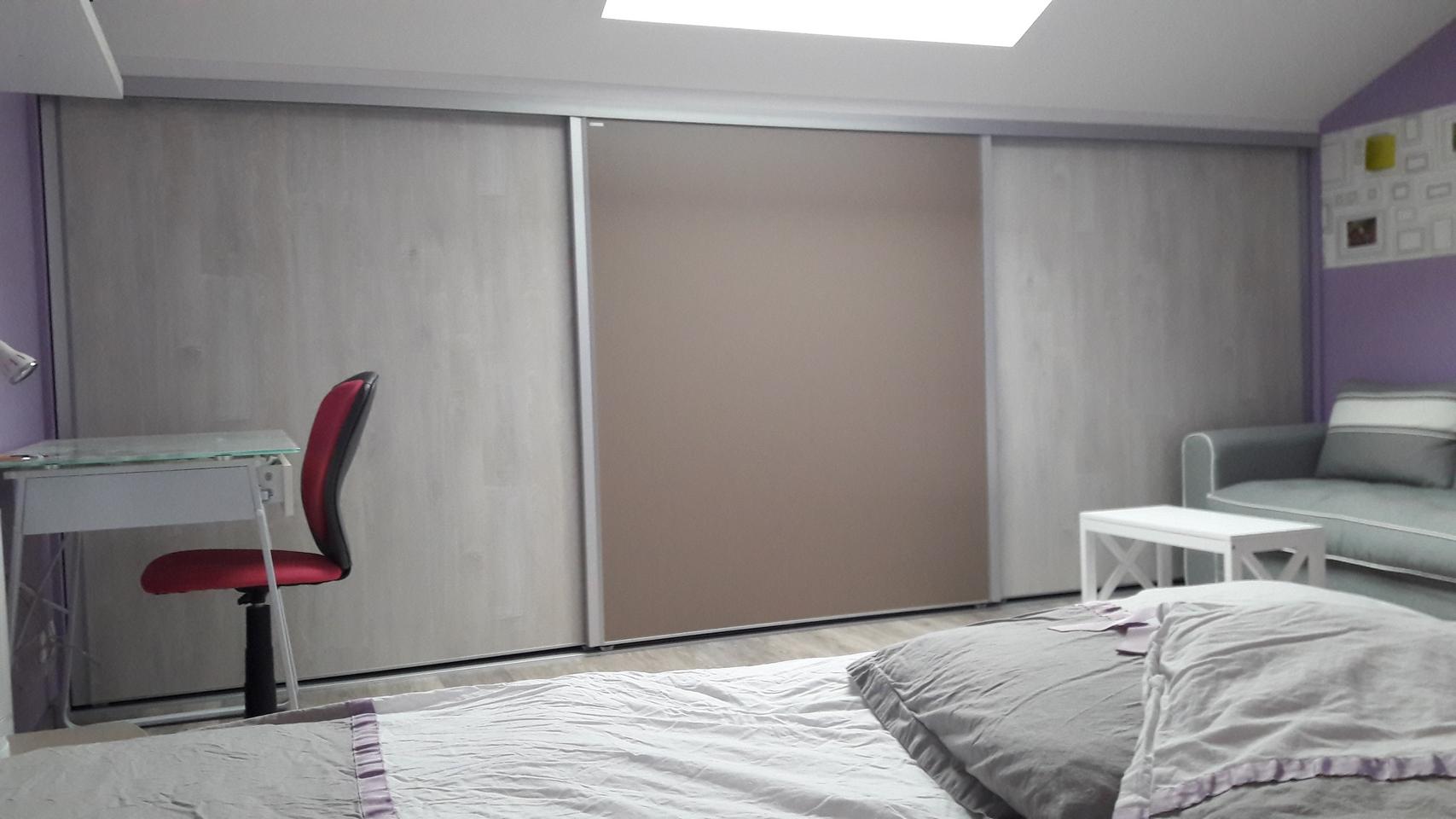 facade de placard dressing fma menuiserie 79120 lezay. Black Bedroom Furniture Sets. Home Design Ideas