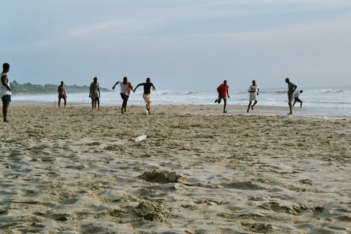 Am Strand von Cap Skirring