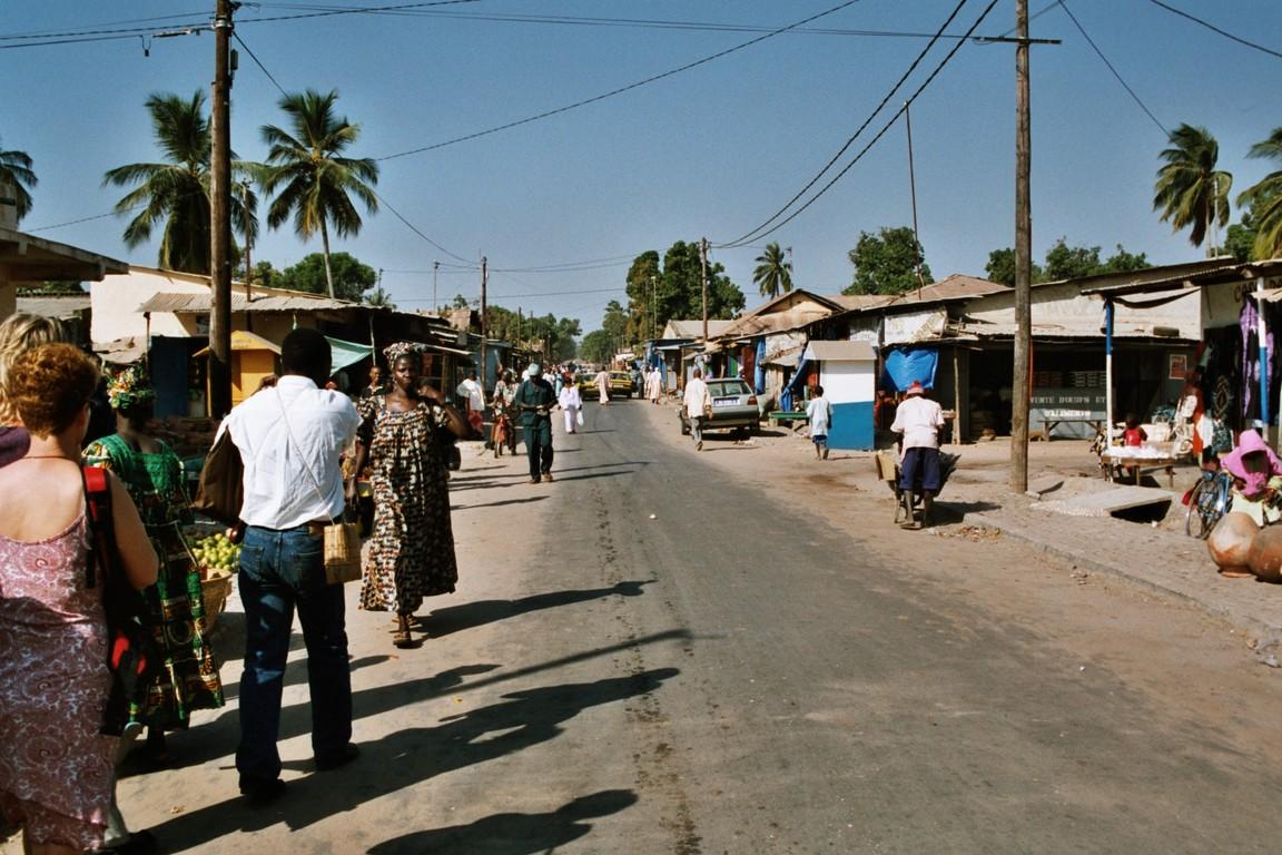 Am Markt in Ziguinchor