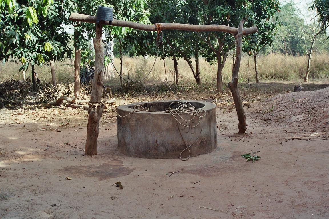 Brunnen im Dorf
