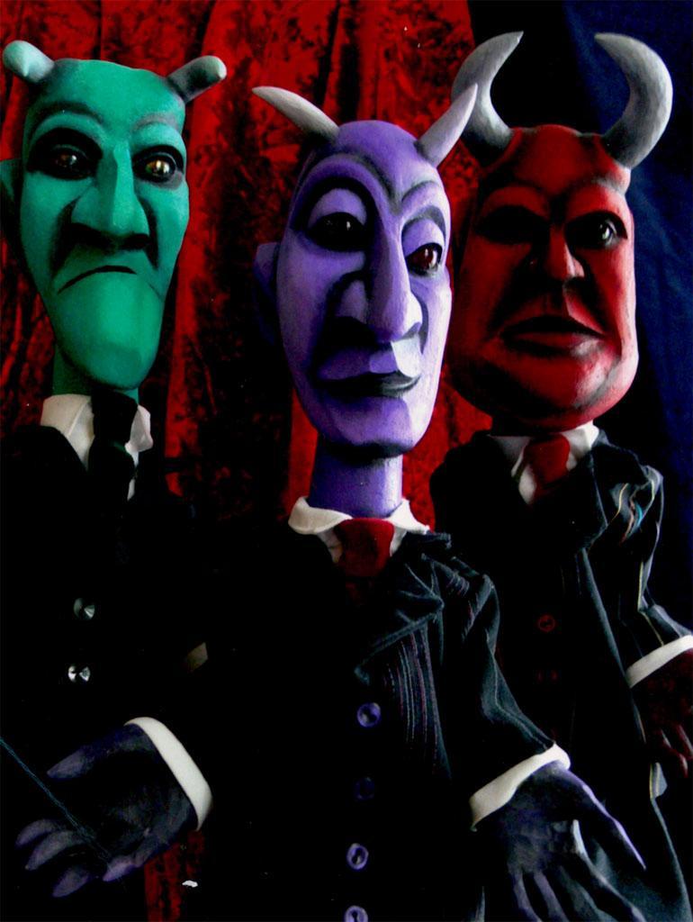 Kasper und die 3 Teufel