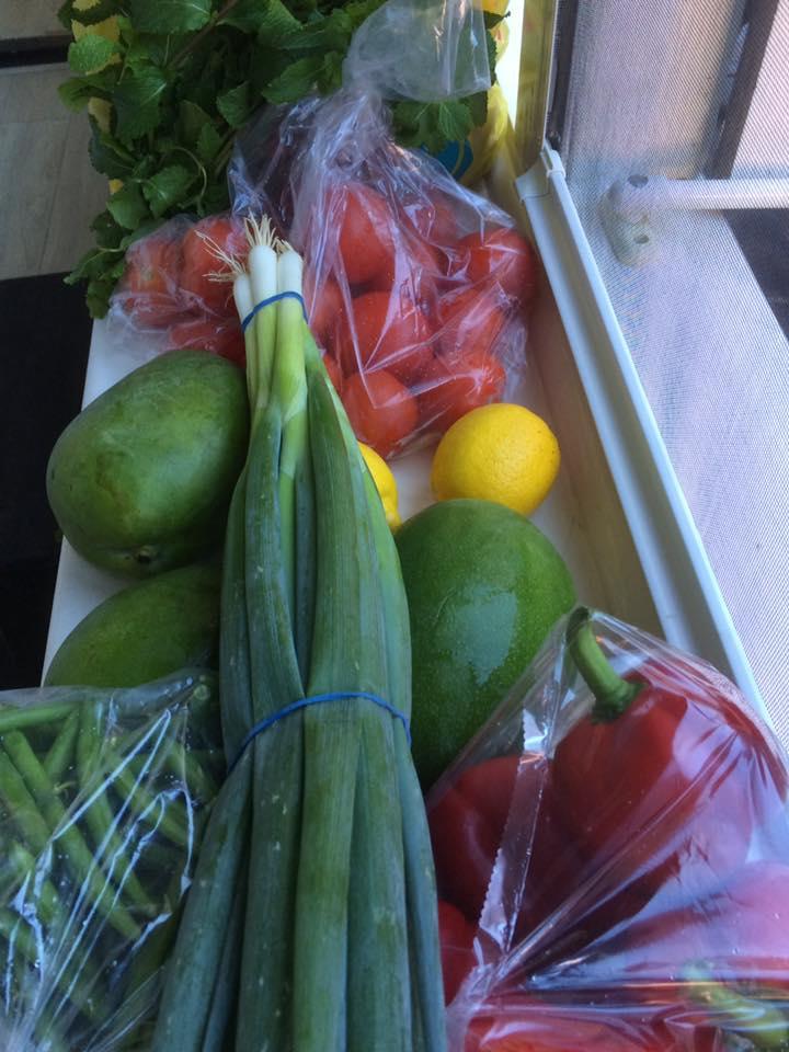 en natuurlijk groente en fruit