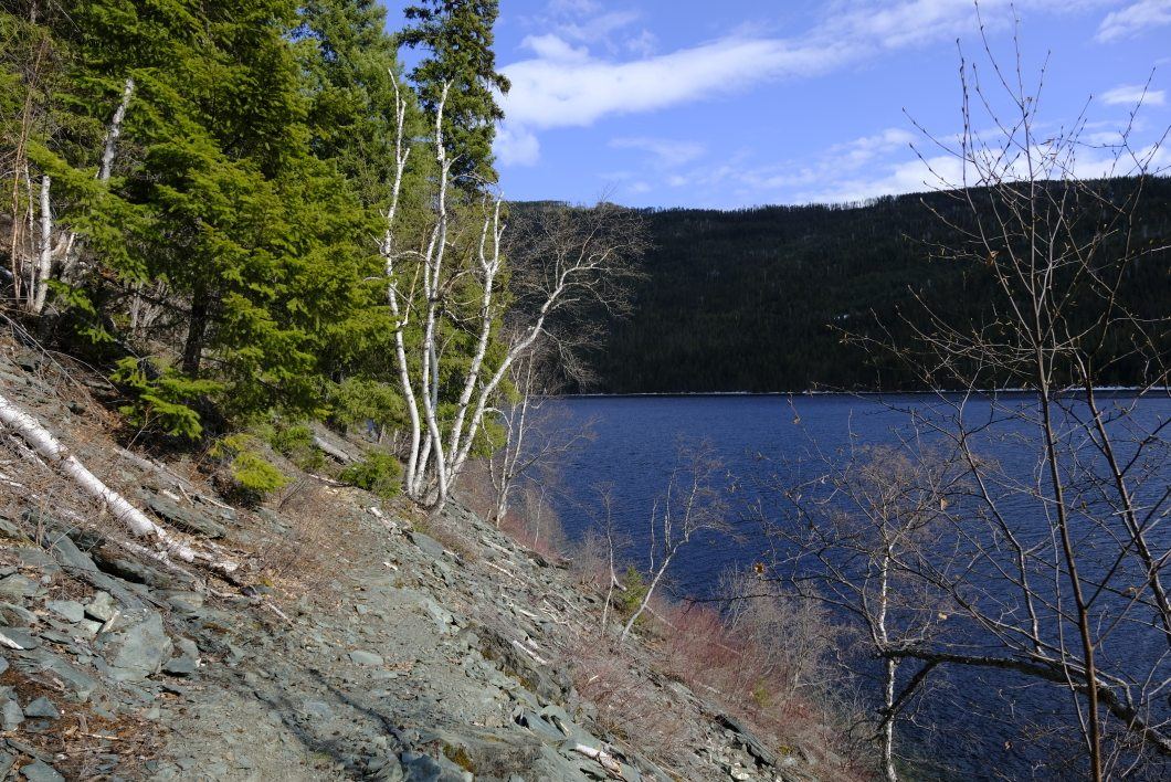 East Barriere lake