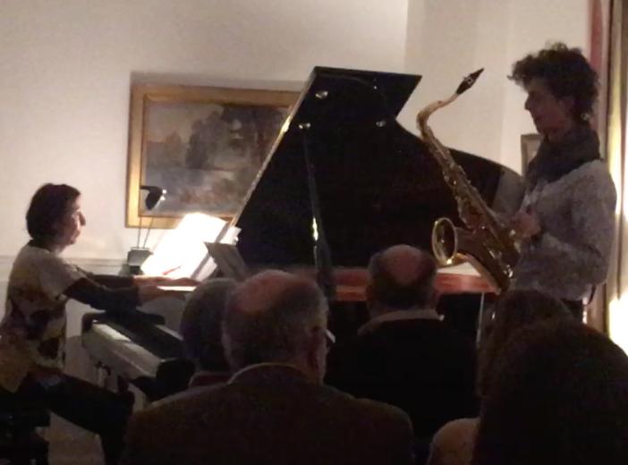 Martine Vialatte (piano) Sebastian Sarasa Molina (saxophone)