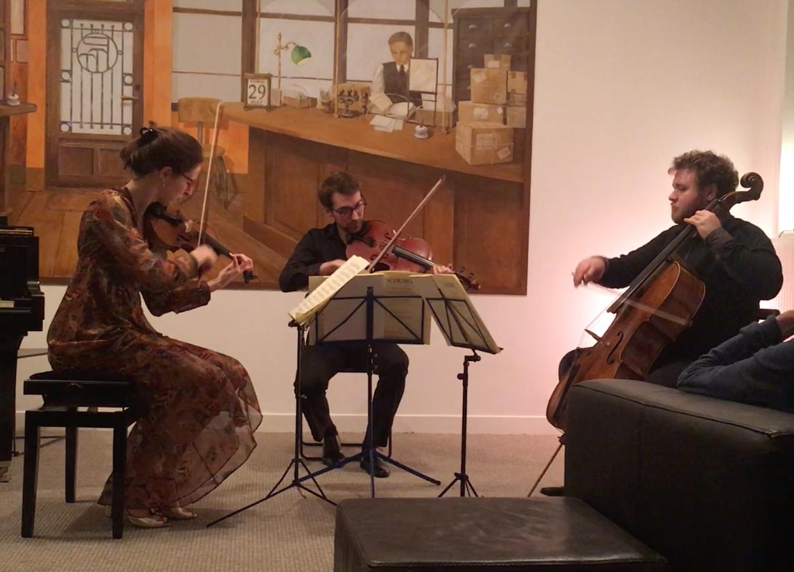 Pauline Leroy (violon) Clément Batrel-Génin (alto) Pierre Poro (Violoncelle)
