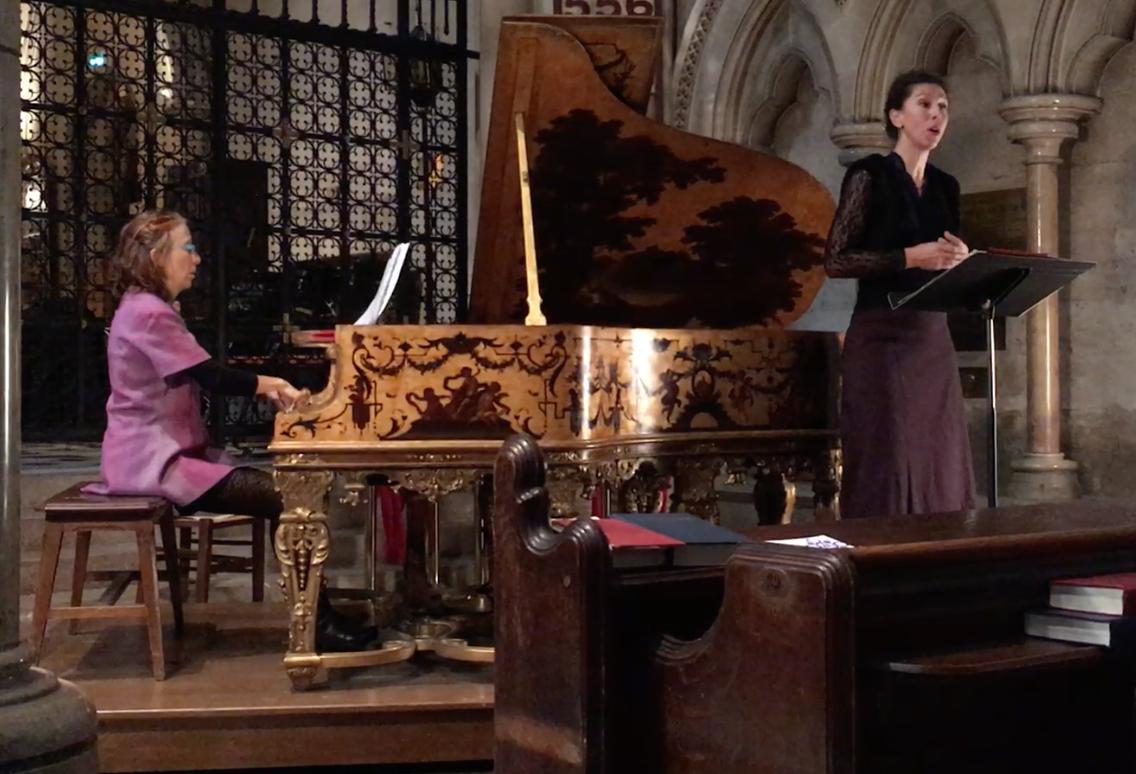 Martine Vialatte (Piano) Cécile Côte (Soprano)