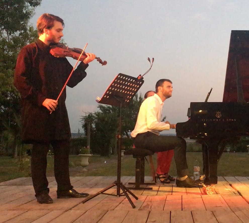 François Pineau-Benois (Violon) Guilhem Fabre (Piano)