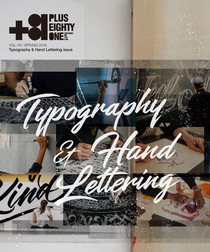 Vol.79 Typography & Hand Lettering issue