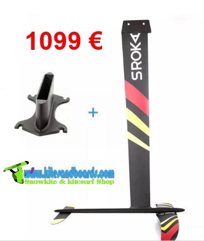 kitefoil Sroka K-foil carbone
