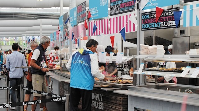 Kitchens, Olympic Games 2012 London / Picture: PKL