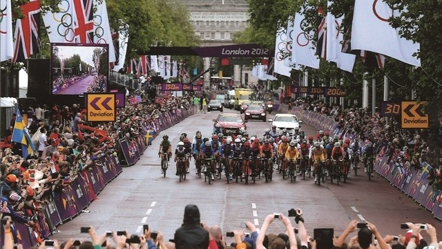 Road cycling, Olympic Games 2012 London / Picture: Livetrakway
