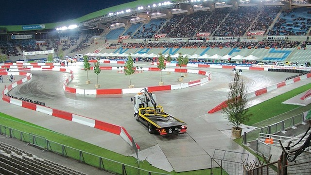 Car Race Nantes Ground Protection Box Panels / Picture: EPS