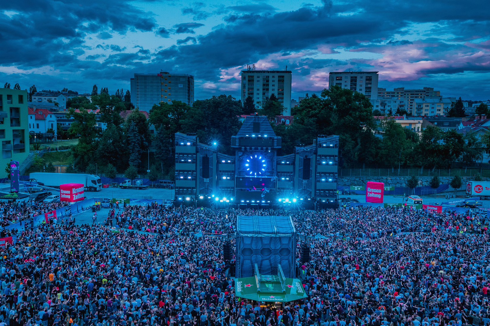 Electric Nation Festival, Graz / Picture: NUSSLI Group