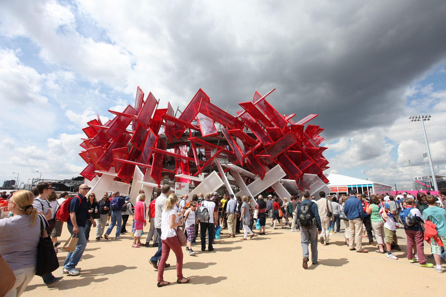 Coca-Cola Beat Box, Olympic Games 2012 London / Picture: NUSSLI