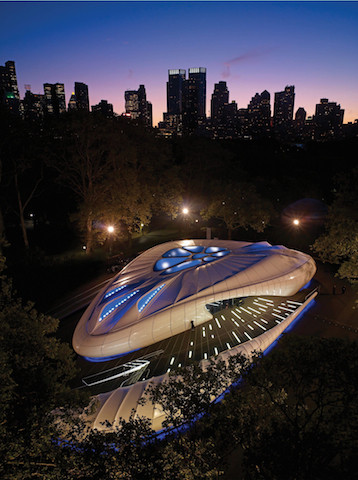 Chanel Mobile Art Pavilion (Zaha Hadid) New York / Picture: ES Global