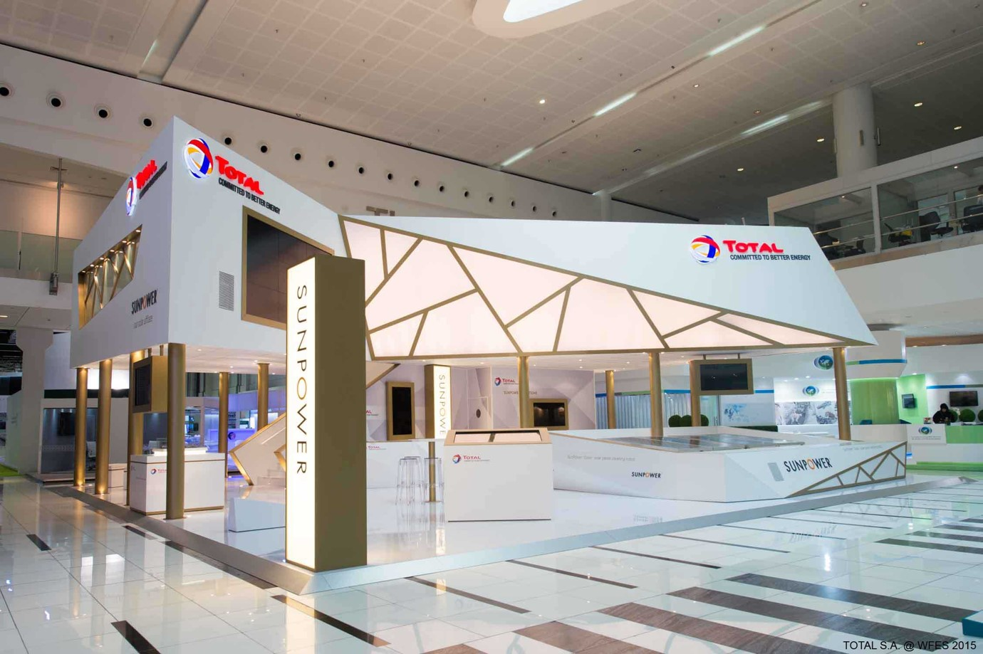 Stand - Total WFES 2015 / Picture: Electra