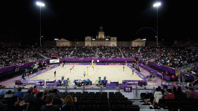 Horse Guards Parade, Olympic Games 2012 London / Picture: Musco