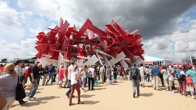 Sponsor Pavilion Coca Cola Beatbox, Olympic Games 2012 London / Picture: NUSSLI Group
