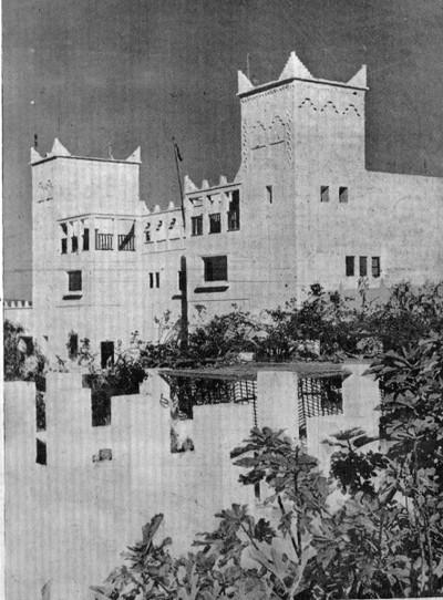 Oficina de Policía. Foto AOE. 6 de octubre de 1957