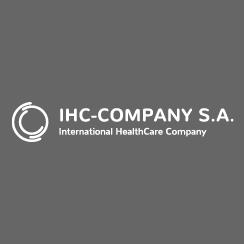 Layout und Aufbau der Internetseite für IHC-Company S. A.