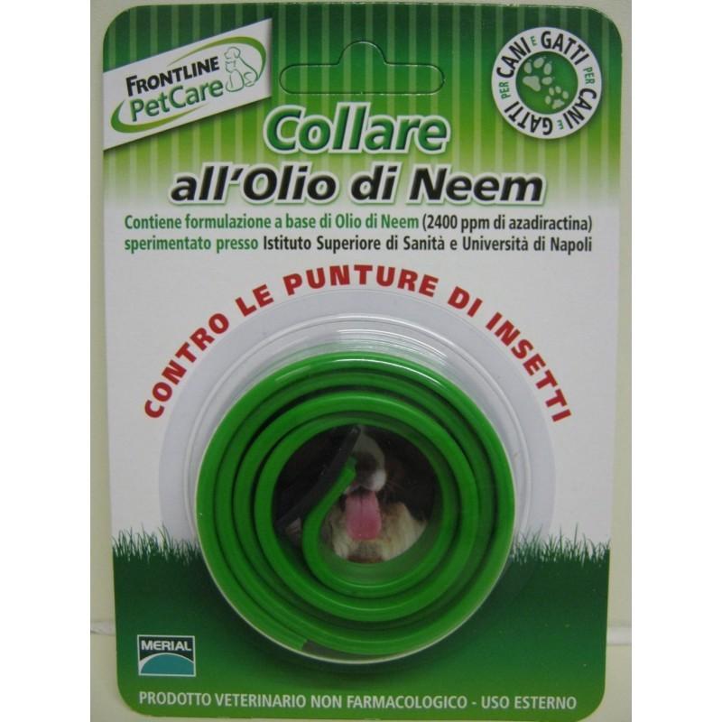 Frontline pet care collare all 39 olio di neem benvenuti - Olio di ruta repellente gatti ...