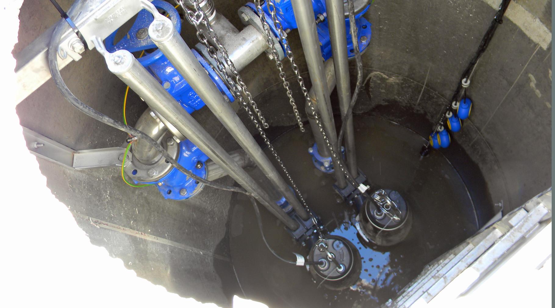 Pumpen und Pumpenschächte