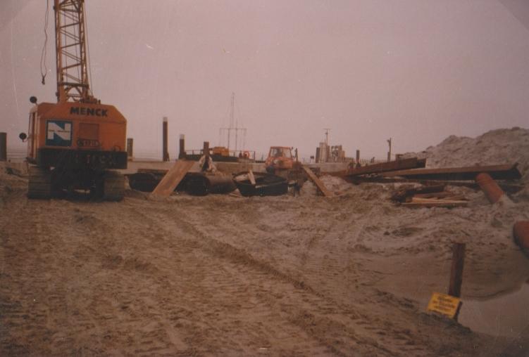 Baubeginn  1981