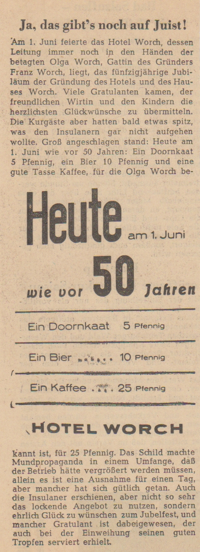 1. Juni 1959 ; Ostfriesischer Kurier