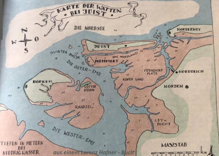 Juist Karte.Landkarten Lagepläne Juist Meer Und Mehr