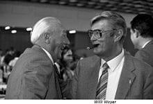 rechts: Willy Weyer