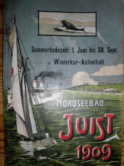 Inselprospekt aus dem Jahr 1909