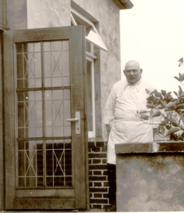 ein Neuanfang ist gemacht, Franz Worch im  Sommer 1949