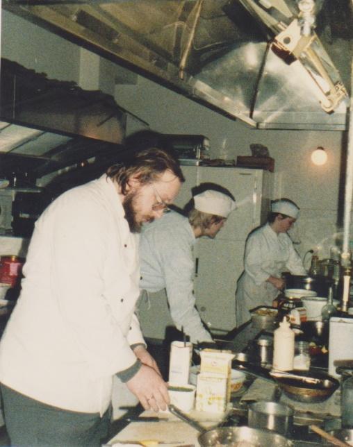 1988  rhj. mit  Sven , Anja , die besten Lehrlinge (Azubi's) ever!!