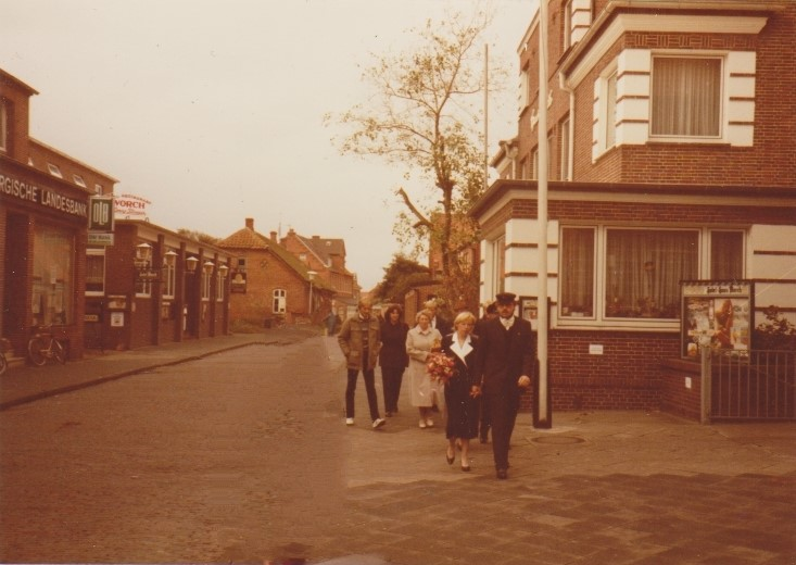 23. September 1985 auf dem Weg zum Standesamt...........