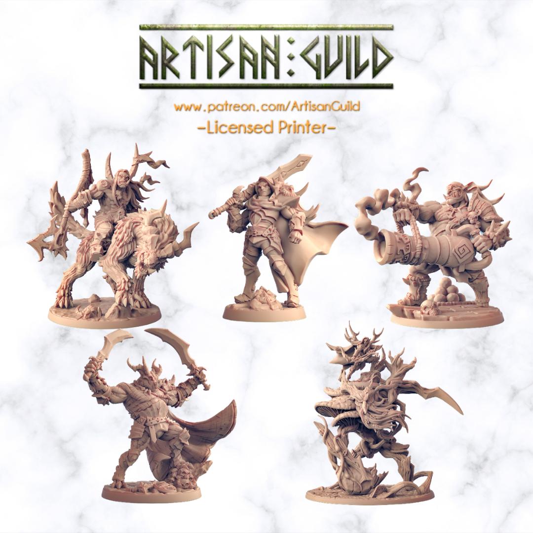 Artisan Guild - Klassische High Fantasy Minis mit unglaublichen Details und vielen Optionen