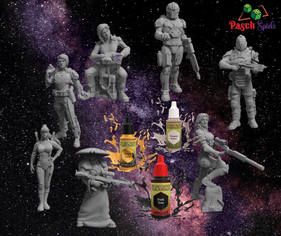 RM Printable Terrain und Minis - super detaillierte und spannende Miniaturen und Geländestücke SciFi und Fantasy Themen!
