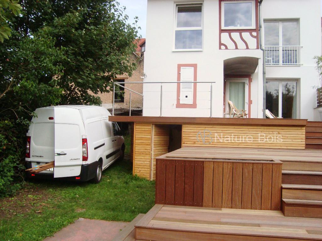 façade menuiserie nature bois