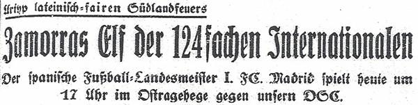 Überschrift im Dresdner Anzeiger vom 17. Juni 1934