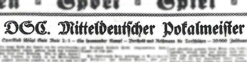 Überschrift aus dem Dresdner Anzeiger, 05.03.)